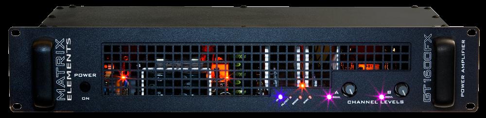 GT1600FX Bass Amplifier